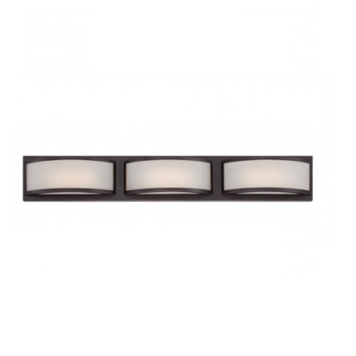 14.4W Mercer LED Wall Sconce Light, Georgetown Bronze
