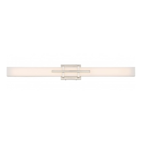 39W Grill LED Wall Sconce, Triple, Polished Nickel