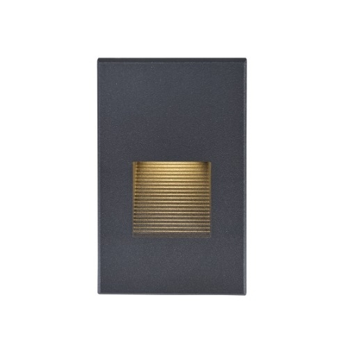 LED Vertical Step 120V Accent Light, Bronze