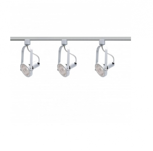Nuvo 3 Light Track Kit Par30 Bulb Gimbal Ring White