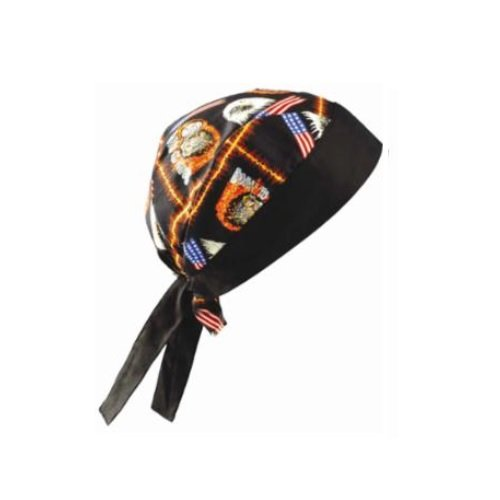One Size Motorcycle Tuff Nougies Regular Tie Hats