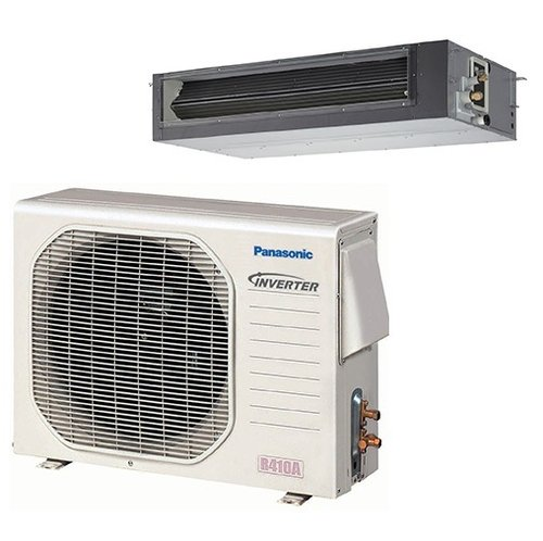 Panasonic hvac k btu concealed duct mini split system