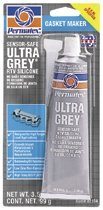 Ultra Series RTV Silicone Gasket Maker, 3.5 oz Tube, Grey