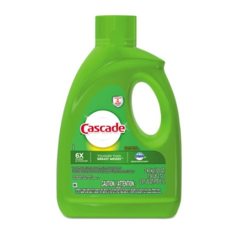 Cascade Lemon Dishwashing Gel 120 Oz.