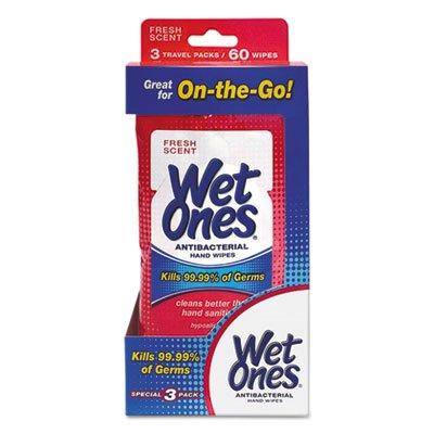 Wet Ones Big Ones Antibacterial Hand Wipes Travel Pack