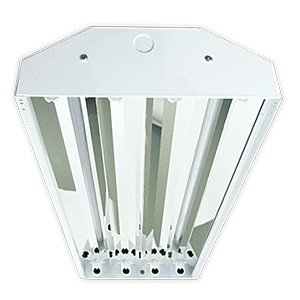 LED Horizon High bay For Four T8 Tubes, 120-277V