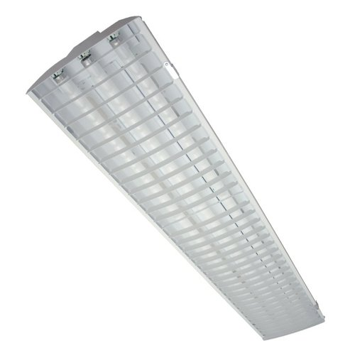 105W 1X4 Louvered LED High Bay, 4000K, Dimmable