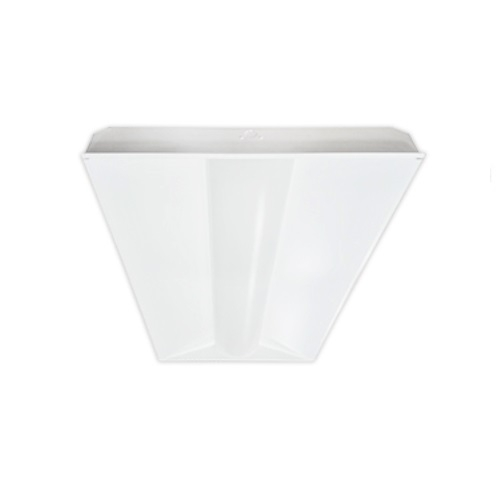 BrightStar 34W 2x4 Recessed LED Direct/Indirect Fixture, Dimmable, 5000K