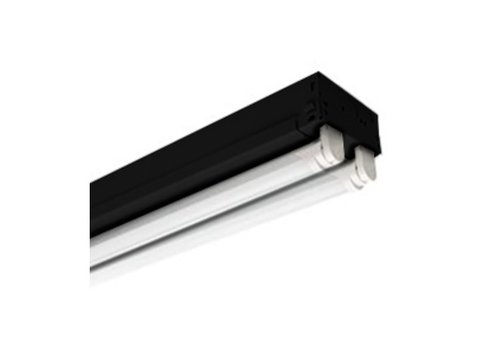 48 Inch LED Linear Fixture, Black