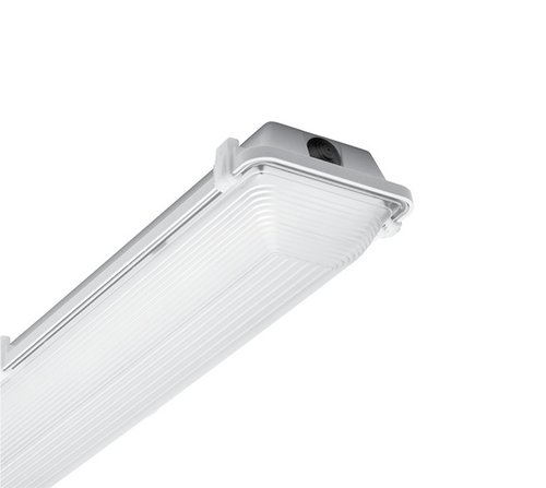 96 Inch LED Vapor Tight T8 Fixture, 4 Lamps