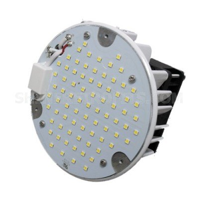45W LED Shoebox Retrofit - Amber Color