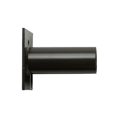 White Flat Pole and Wall Mount for Stealth LED Fixture