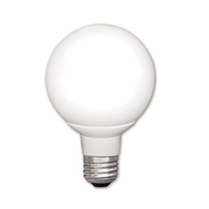 7W Dimmable G25 LED Bulb, 2700K, Energy Star