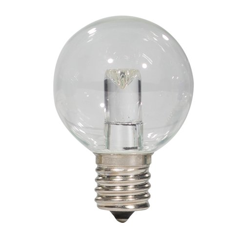 S14 LED Clear Bulb 3W 2700K with E17 Base