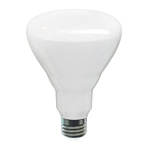 13.5W Dimmable BR30 LED Bulb, 3000K, 120V, Energy Star