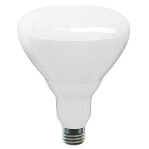 17W Dimmable BR40 LED Bulb, 3000K, 120V, Energy Star