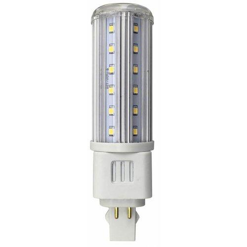 5000K 12W T10 LED Horizontal Bulb With G24Q Base