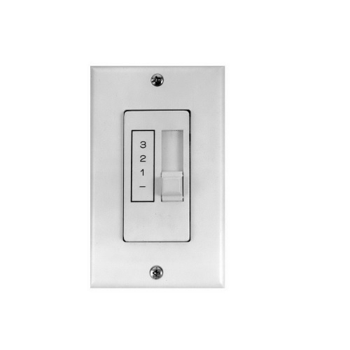 5 Amp Mechanical Control for Two 48 & 56-in Fans, Noiseless, 120V