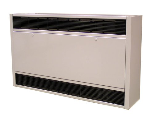 600V, 10kW, 45 Inch, Field Convertible Cabinet Unit Heater
