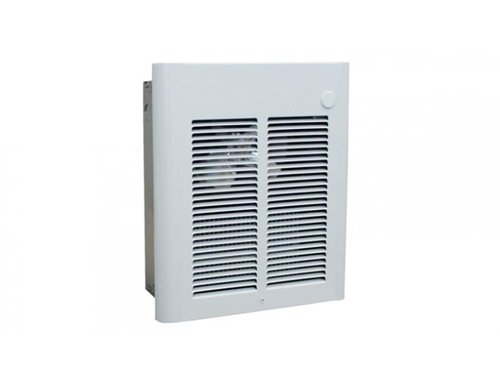 750W/1500W Commercial Fan-Forced Wall Heater, 120V White