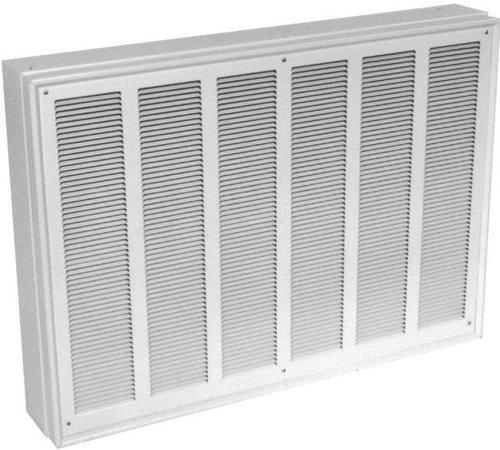 6000W Commercial Fan-Forced Wall Heater, 208V White