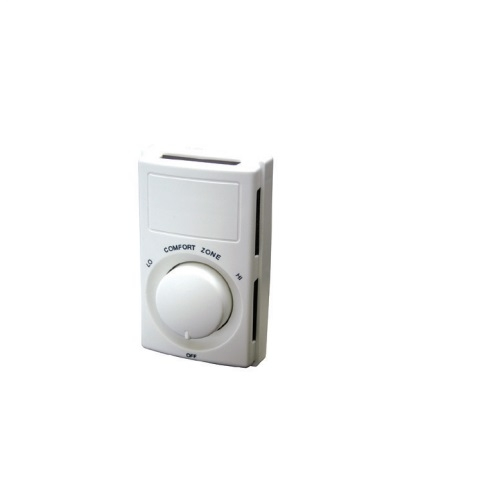 22A Line Voltage Thermostat, Dual Pole Switch