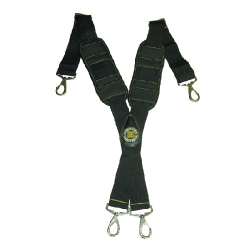 Molded Air-Channel Suspenders w/Adjustable Nylon Straps