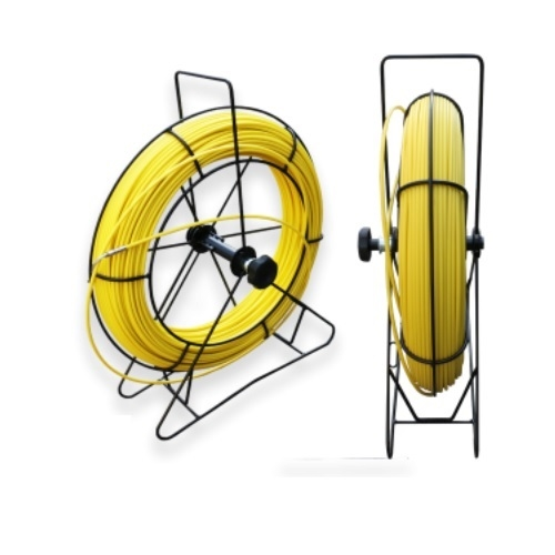 1/4-in x 400-ft Fish Tape w/ Steel Rodder, Yellow