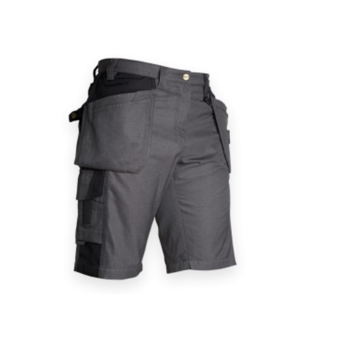 Work Shorts, Heavy-Duty, Mid-Weight, Size 40