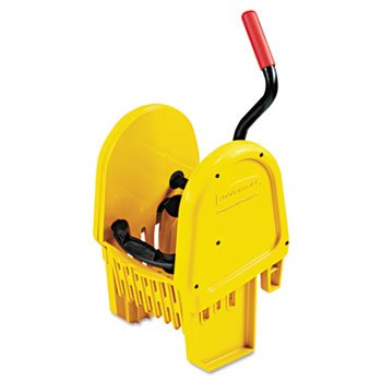 WaveBrake Yellow Downward Pressure Mop Wringer