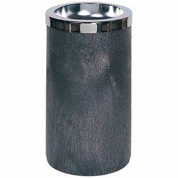 Chrome Smoking Urn/Trash Receptacle