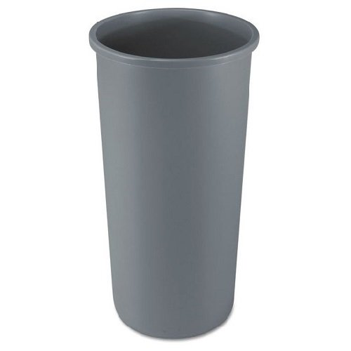Untouchable Gray 22 Gal Round Container