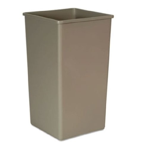 Untouchable Beige 50 Gal Square Container