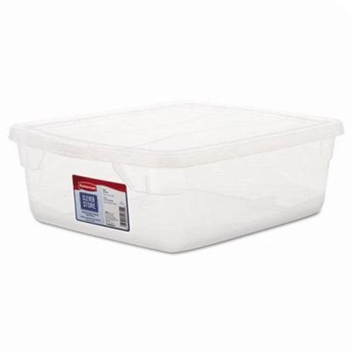 Roughtote Clear 3 Gal Storage Box
