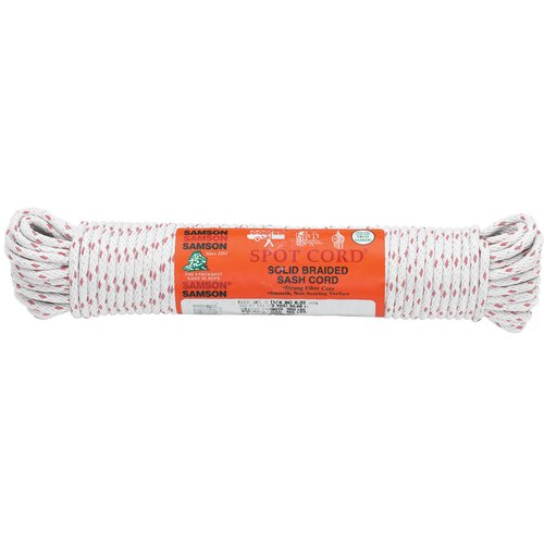 "3/8X1200"" Solid Braided Cotton Sash Cord"
