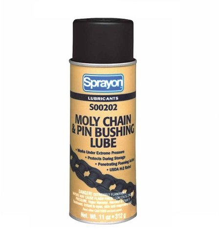 11 oz Aerosol Moly Chain & Pin Bushing Lube