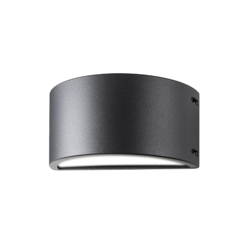 24W LED Genova Series Wall Sconce, 1800 lm, 3000K, Anthracite