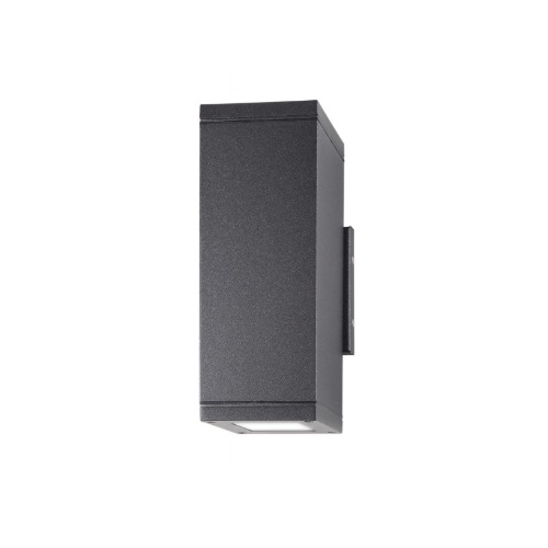24W LED Verona Series Wall Sconce, Up/Down, 1800 lm, 3000K, Anthracite