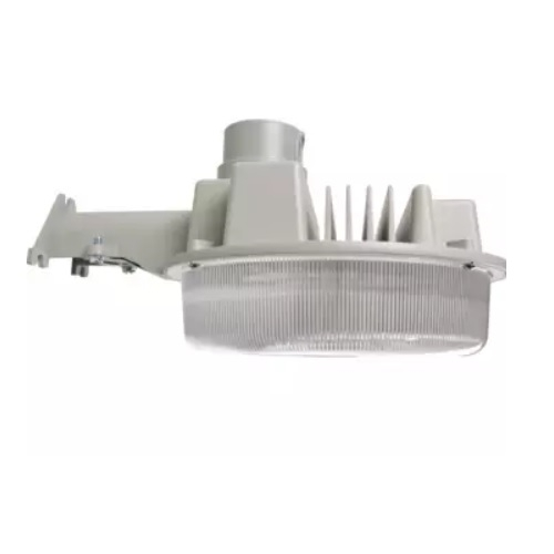 58W LED Wall Mount Parking Area Light, 5000K, Gray Finish