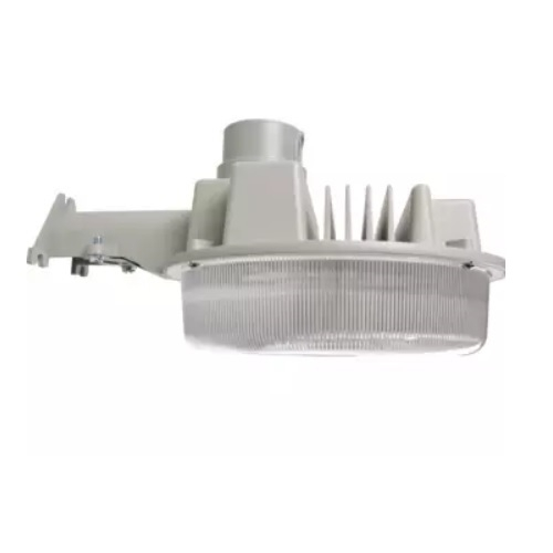 42W LED Wall Mount Parking Area Light, 5000K, Gray Finish
