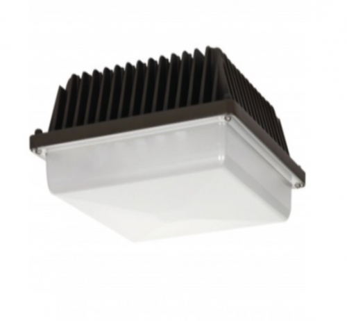 58W Low Profile LED Canopy Fixture, 5000K
