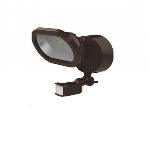 SATCO 14W LED Single Head Security Light w/Motion Sensor