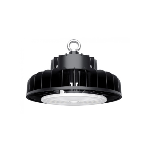 150W LED UFO High Bay Light, Dimmable, 19500 lm, 5000K, Black