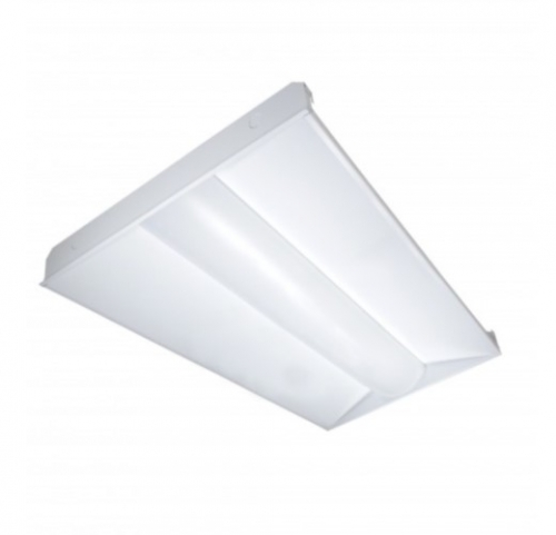 1 X 2 Led Light Fixture: Satco Lighting 40W LED 2 X 4 Troffer Light Fixture, 4000K