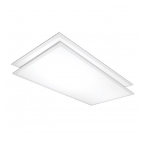 1 X 2 Led Light Fixture: Satco Lighting 50W 2 X 4' LED Flat Panel Light Fixture