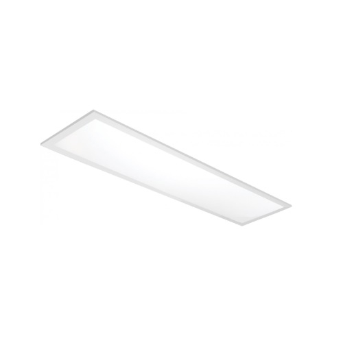 1x4 40W LED Flat Panel, Dimmable, 5200 lm, 5000K