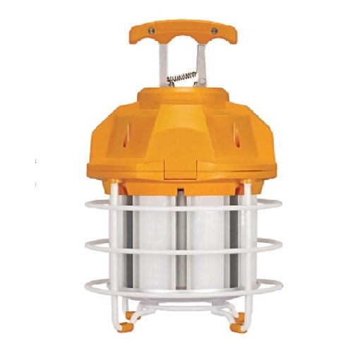 60W Hi-Pro LED High Bay Caged Lamp, 5000K