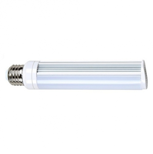 8W LED PL Bulb, 2-Pin E26 Base, 3000K, 675 Lumens