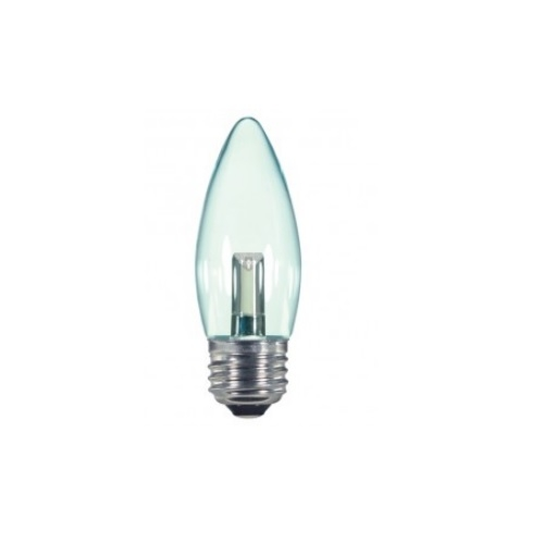 1.4W LED  Candelabra Base Bulb, Clear