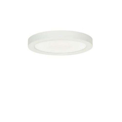 """Blink 18.5W 9"""" Round LED Flush Mount, 2700K, 1150 Lumens, White"""